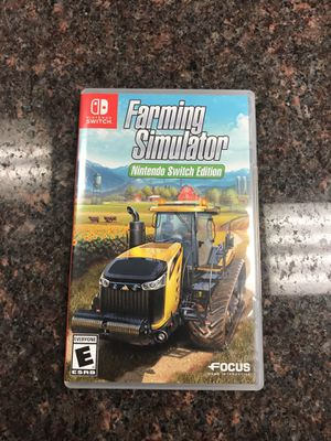 Nintendo switch game farming simulator Nintendo switch edition for Sale in Austin, TX
