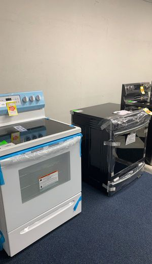 Electric Stove Sale! Brand New with Warranty! Whirlpool LG Samsung Frigidaire and more!! DBVF for Sale in Buena Park, CA