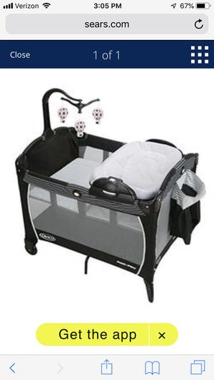 Graco Pack n Play Playard Portable Napper and Changer for Sale in Orland Park, IL
