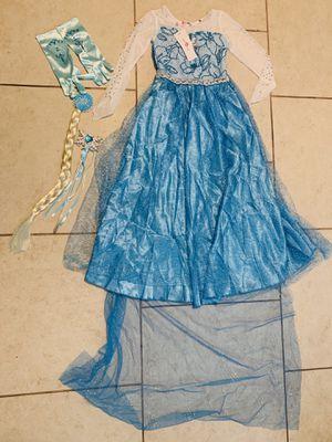 New Elsa costume & accessories for Sale in Port Hueneme, CA