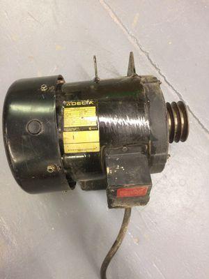 Delta Unisaw 3hp 220v 1 phase motor for Sale in Lancaster, MA