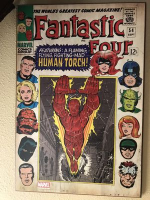 Fantastic Four Wood Wall Decor for Sale in Edinburg, TX
