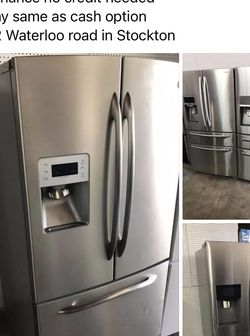 Stainless Steel French Door Refrigerators for Sale in Stockton,  CA