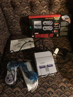 Brand NEW SNES Super Nintendo Classic Edition for Sale in Lake Stevens, WA