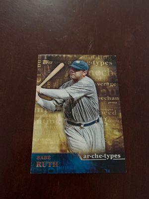 Babe Ruth baseball card for Sale in Long Beach, CA