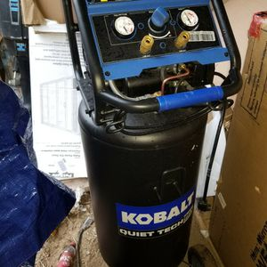 Kobalt 26 Gal Quiet Air Compressor for Sale in Elloree, SC