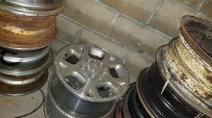 Jeep wheels aluminum 2 styles for Sale in Glen Burnie, MD