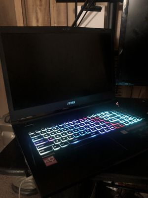 "30 day old MSI 17.3"" GS73 Stealth Laptop Computer for Sale in Taylor, MI"