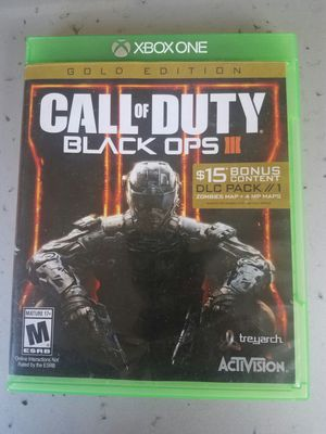 Xbox one Blackops 3 for Sale in Santa Ana, CA
