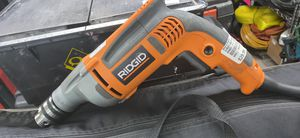Ridgid corded drill for Sale in Fayetteville, NC