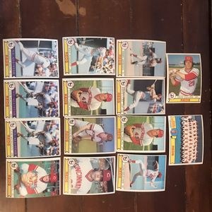 Topps Reds 1979 Baseball Cards for Sale in St. Charles, IL