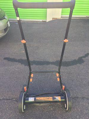 """Remington 16"""" Reel Lawn mower for Sale in Elizabeth, NJ"""