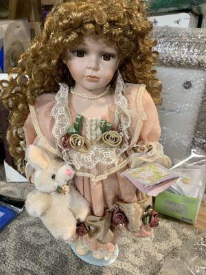 Muñeca de colección nueva de home interior for Sale in Houston, TX