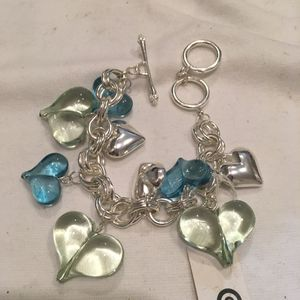 Heart charm bracelet 💗💗💗 for Sale in Rockville Centre, NY