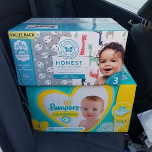 Pampers And Honest Diapers for Sale in Santa Ana, CA