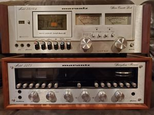 Marantz Vintage Stereo Equipment - 2275 Receiver, 5010B Cassette Deck for Sale in Long Beach, CA