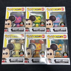 Mickey Mouse Funko Pop Set for Sale in Alhambra, CA