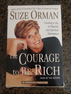 SUZE ORMAN: THE COURAGE TO BE RICH for Sale in Mesa, AZ