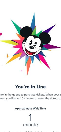 3 Disneyland Touch Of Disney Tickets for Sale in West Covina,  CA