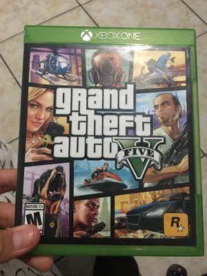 GTA 5 for Xbox 1 for Sale in Costa Mesa, CA