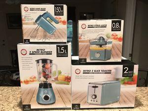 Chef's Counter Retro Kitchen Appliances for Sale in Mascoutah, IL