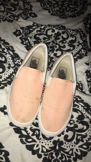 Peach classic Vans slip-on for Sale in Rockford, IL