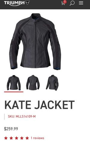 [NEW] Triumph Motorcycle Kate Jacket size: 2L for Sale in Los Angeles, CA
