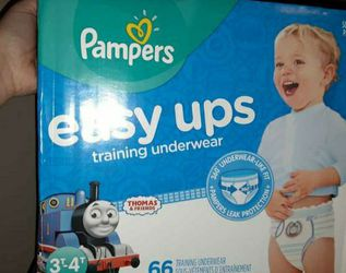 Pampers Easy Ups Pullups Size 3/4t for Sale in Damascus,  OR