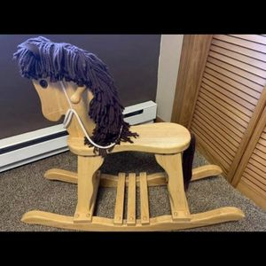Wooden Rocking Horse for Sale in Wallingford, CT