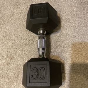 30 Pound dumbell! Brand New!!! for Sale in Bensalem, PA