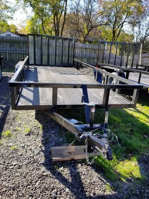 16' Trailer Brakes and Reinforced Tailgate (Traila) for Sale in Wylie, TX
