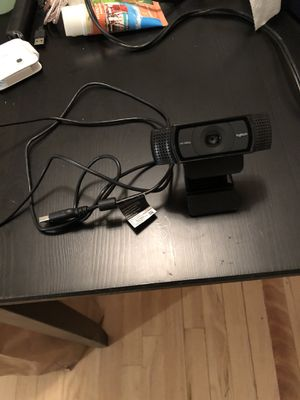 Logitech webcam 1080p - barely used for Sale in Tacoma, WA