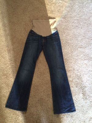 Maternity Jeans 7 For all Mankind From A pea In The Pod. I paid $198 and have the receipt. for Sale in Payson, AZ