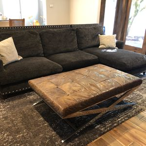 Sectional and Ottoman for Sale in Kent, WA