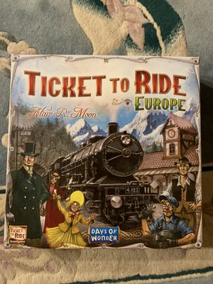 Ticket to ride Europe board game for Sale in Arlington, VA