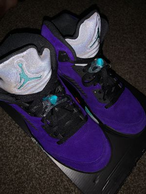 Air Jordan 5's Grapes for Sale in Cleveland, TN