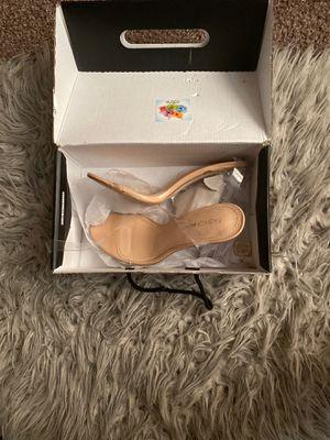 Fashion nova clear heels for Sale in Reynoldsburg, OH