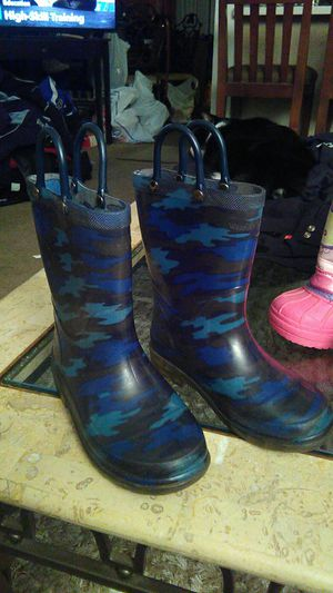 Kid's rain boots size 9 10 in great shape Western chief for Sale in Santa Ana, CA