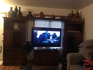 Large entertainment center for Sale in Lambertville, MI