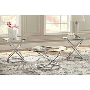"""Signature Design by Ashley """"Hollynyx"""" Coffee Table Set for Sale in Mason City, IA"""