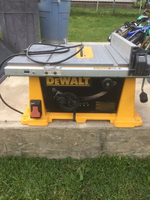 Dewalt table saw. for Sale in Levittown, PA