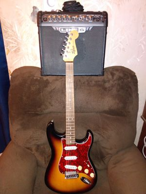 Squire/Fender Stratocaster Electric Guitar Package for Sale in Warren, MI