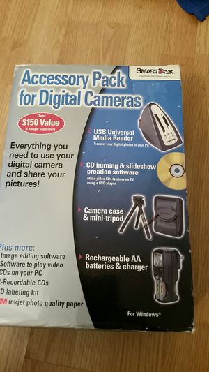Digital Camera Accessory Kit for Sale in Waterbury, CT