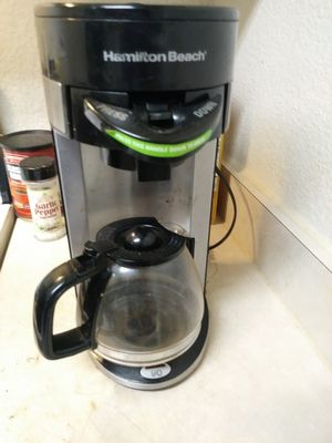 Hamilton beach coffee maker flexbrew for Sale in Las Vegas, NV