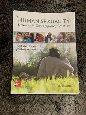 Human Sexuality book for Sale in Temple City, CA