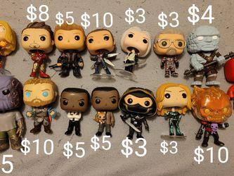 Funko Marvel Iron Man Captain America Thor Hulk Loki Thanos Etc for Sale in Tigard,  OR