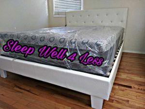 NEW💥QUEEN BED💥PILLOW TOP MATTRESS INCLUDED💥 for Sale in Bellflower, CA
