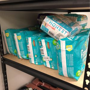 All Diaper Size Small Bag Only $5 Each Firm Price Sizes 2-3mostly for Sale in Fontana, CA