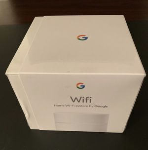 Google Home Wifi system - NEW / Sealed for Sale in Warrenville, IL