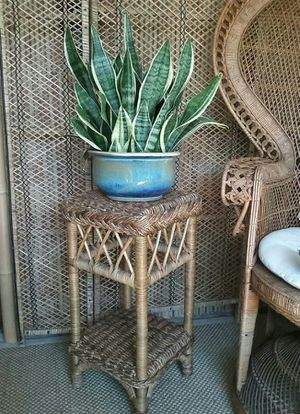 Rattan Wicker Table for Sale in San Diego, CA
